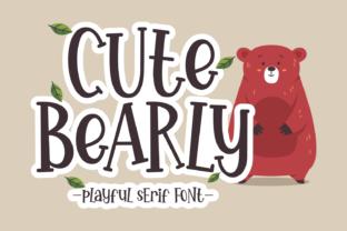 cute-bearly-font