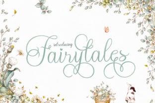fairytales-script-font