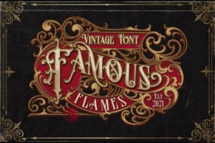 famous-flames-font