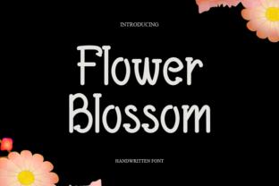 flowers-blossom-font