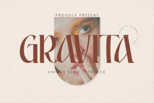 gravita-font