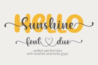 hello-sunshine-font