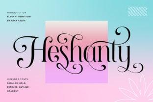 heshanty-font