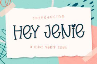 hey-jenie-font