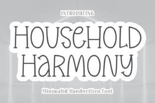 household-harmony-font