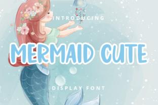 mermaid-cute-font