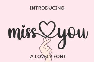 miss-you-font