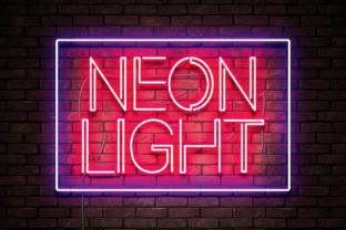 neon-light-font