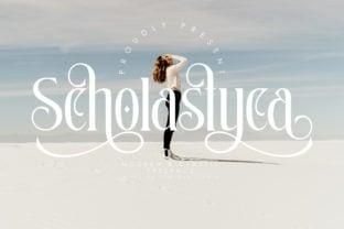 scholastyca-font