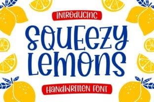 squeezy-lemons-font