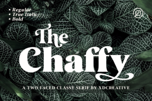 the-chaffy-font