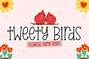 tweety-birds-font
