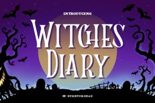 witches-diary-font