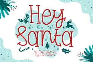 hey-santa-font