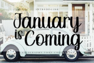 january-is-coming-font