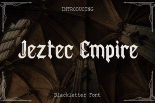 jeztec-empire-font