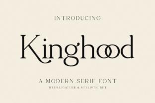 kinghood-font