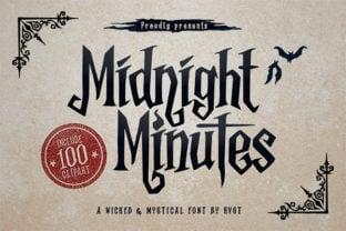 midnight-minutes-font