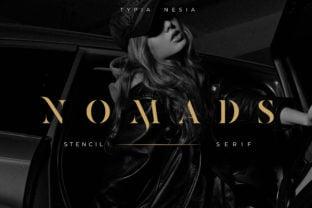 nomads-stencil-font
