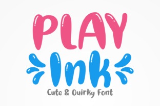 play-ink-font