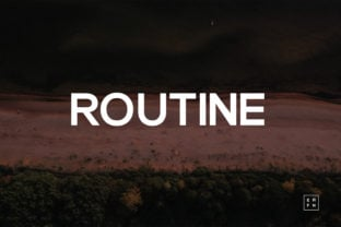 routine-font