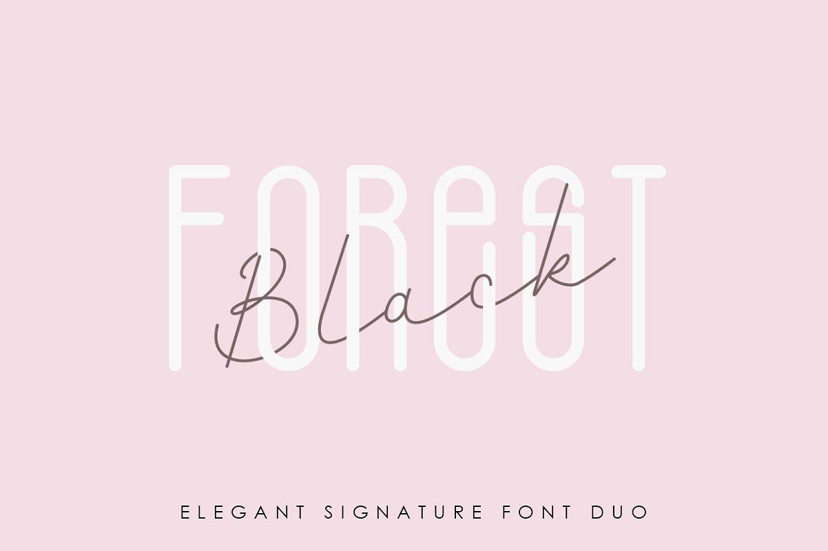 black-forest-l-elegant-font-duo