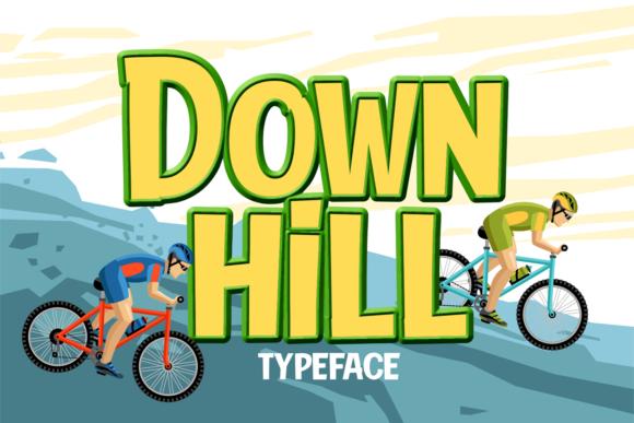 down-hill