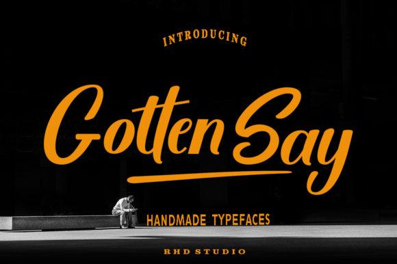 gotten-say