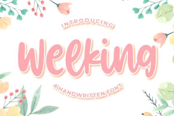 welking