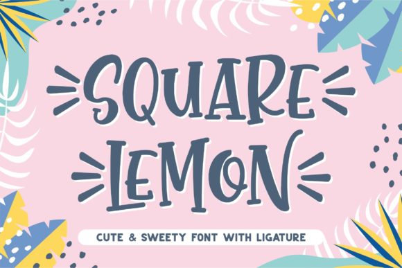 square-lemon