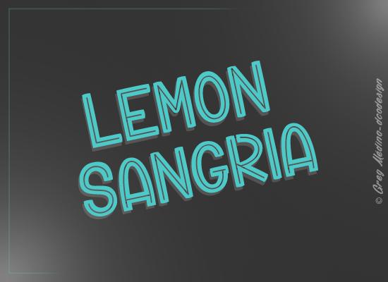 lemon-sangria