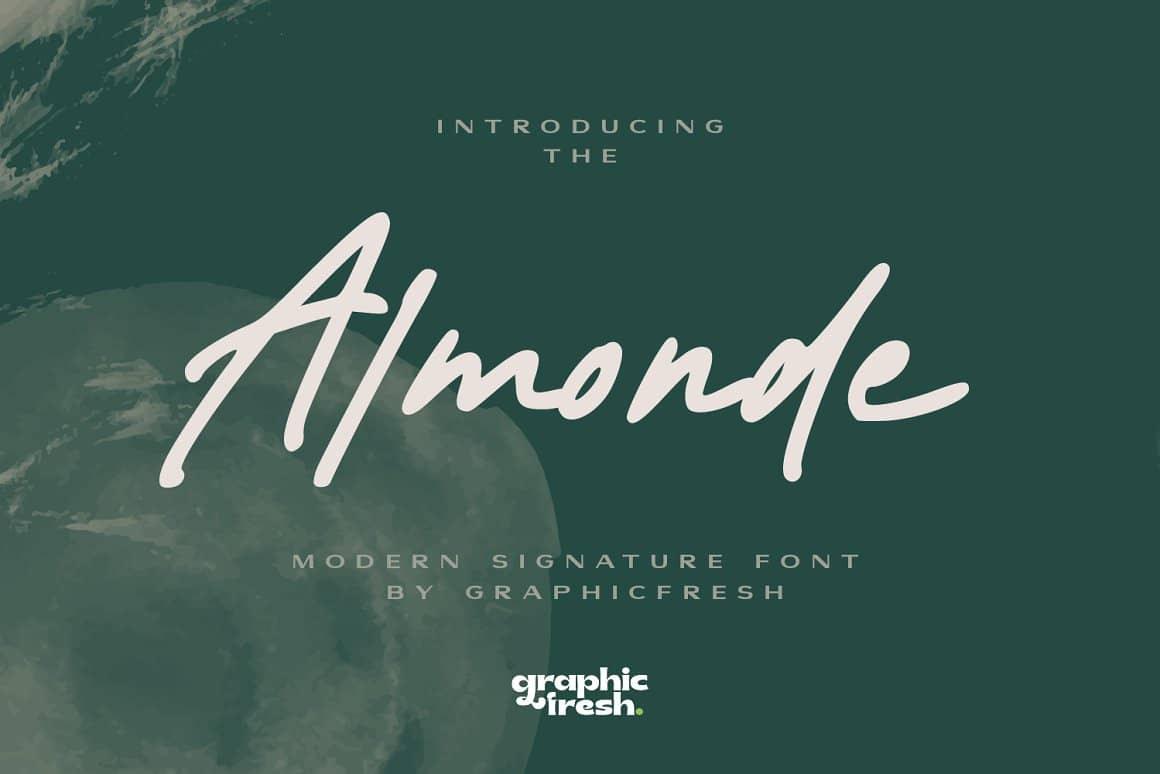 almonde-modern-signature-font
