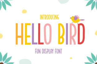 hello-bird-font