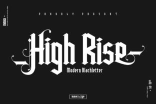 high-rise-font