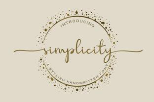 simplicity-font