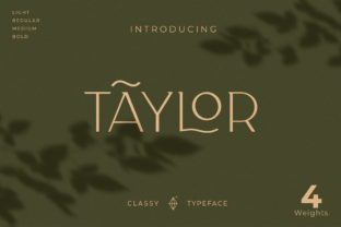 taylor-font