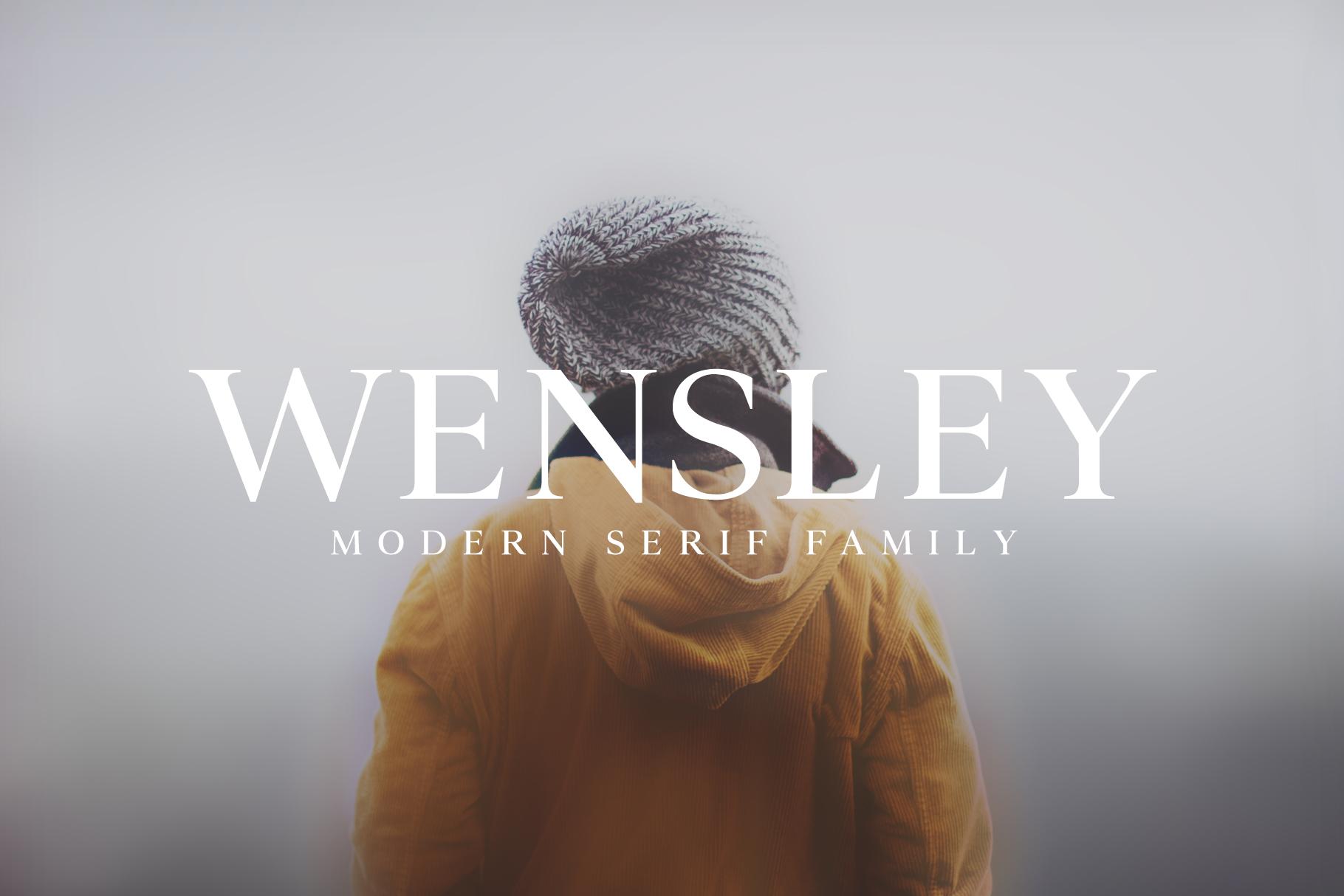 wensley-font