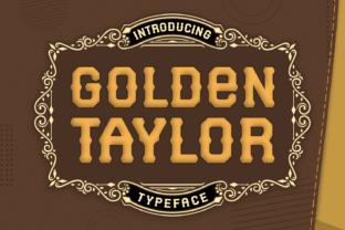 golden-taylor-font