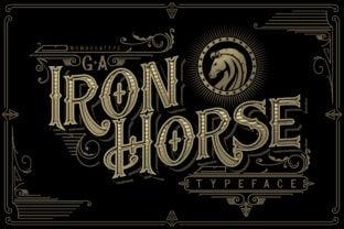 iron-horse-font