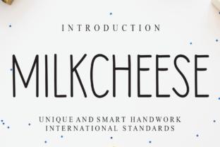 milkcheese-font