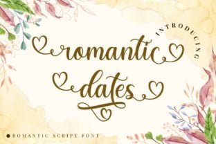 romantic-dates-font