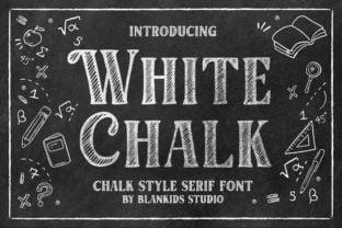 white-chalk-font