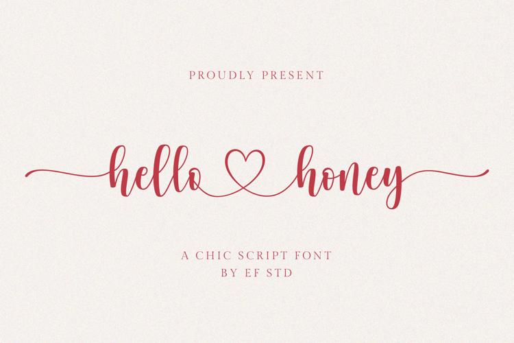 hello-honey-font