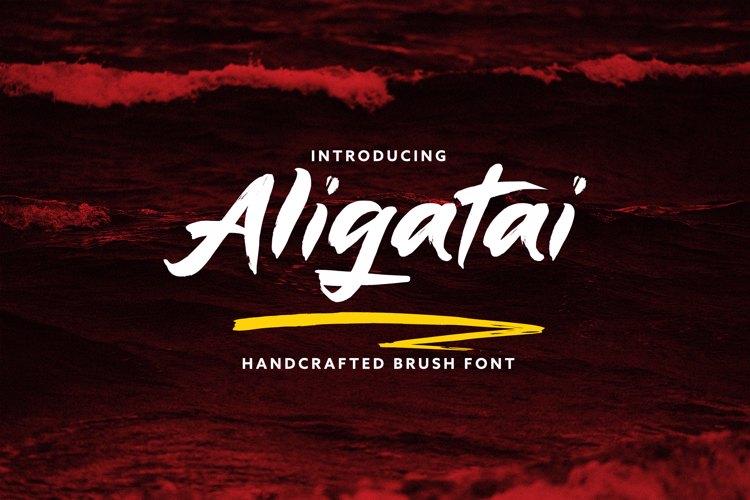 aligatai-font