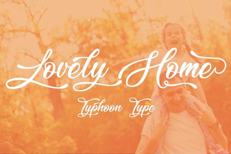 lovely-home-font