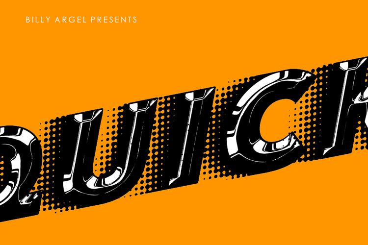 quicksilver-fast-font