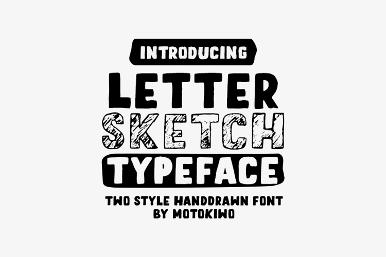 letter-sketch-font