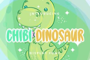 chibi-dinosaur-font