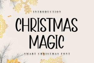 christmas-magic-font