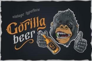 gorilla-beer-font
